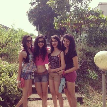 Benafsha Soonawalla with friends