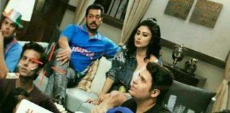 Salman Khan and Mouni Roy
