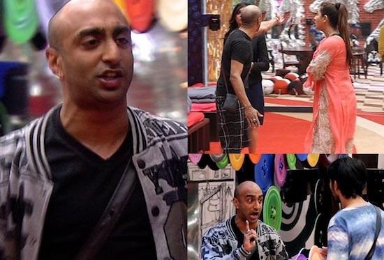 Akash - Shilpa - Hiten - Bigg Boss 11